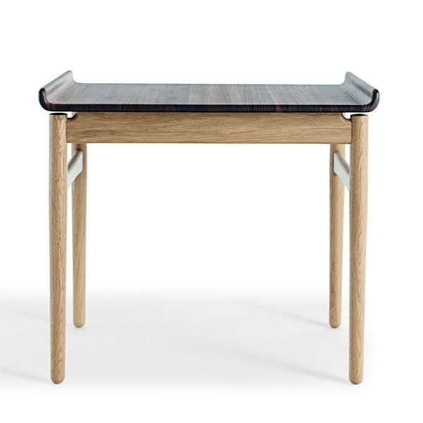 1937 Venus Coffee Table Designer: Hans J Wegner Manufactured by: Getama Dimensions (in): 25.6 w | 19.7 d | 21.7 h This coffee table designed by Hans Wegner features a top in walnut and legs in oak. Da