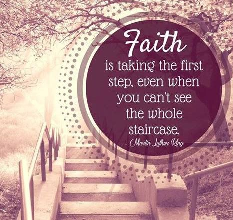 Do you have faith and belief in what you are doing?