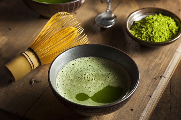 Ванна с зеленым чаем МАТЧА