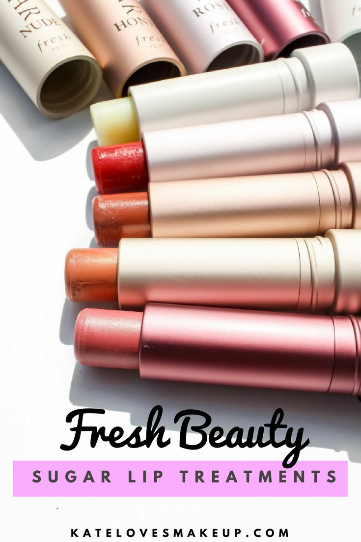 NEW LIP PRODUCTS FROM FRESH BEAUTY | Kate Loves Makeup