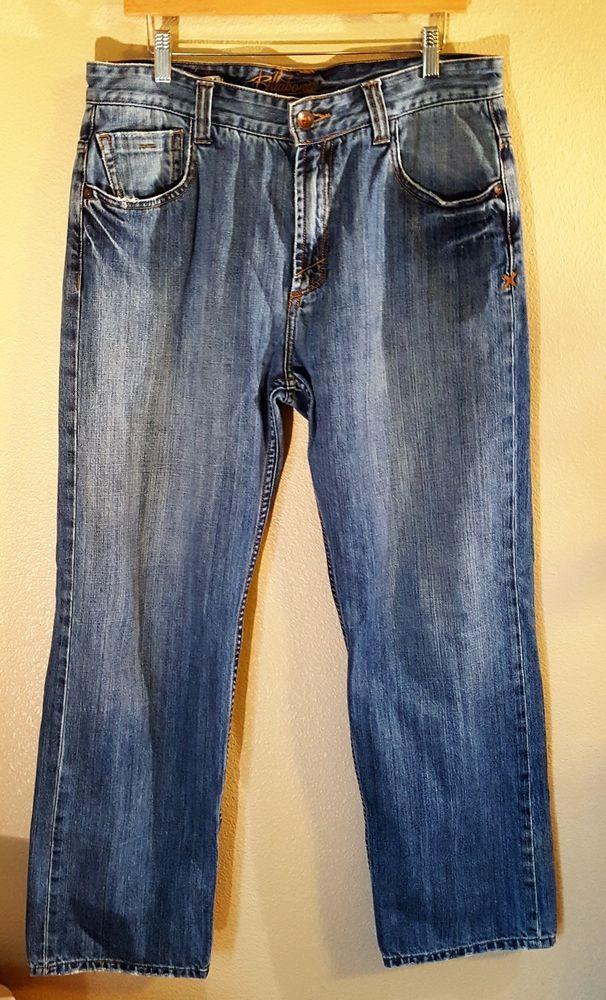 Billabong Paradigm Jereme Rogers Fit Low Waist Jeans Size 34 #Billabong #ClassicStraightLeg