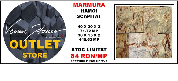 MARMURA scapitat hamoi 40x20x2