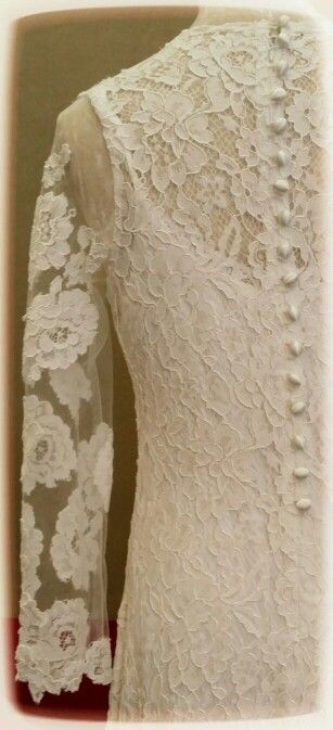 #Lace Wedding Dress #MysticRose