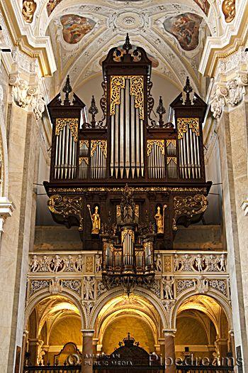 1642 Freundt orgel van Stift Klosterneuburg, Oostenrijk