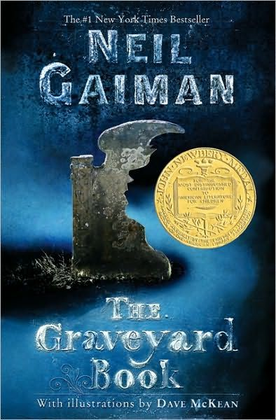 The Graveyard Book, touchy heartfelt, and might make you cry a bit at the end. But it's happy tears!