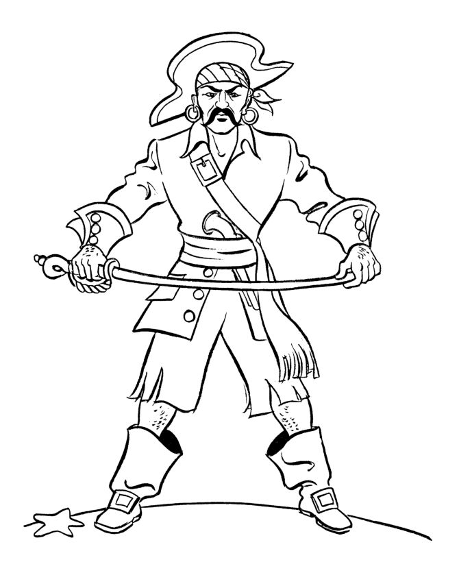 disney pirates coloring pages - photo#11