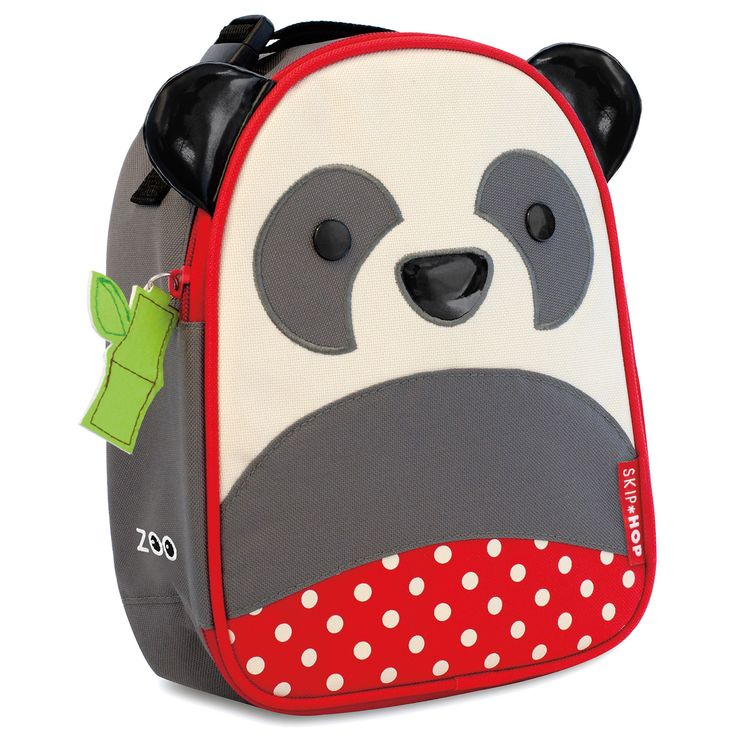 Skip Hop Zoo Lunchies insulated lunch bags, kids Lunchbox