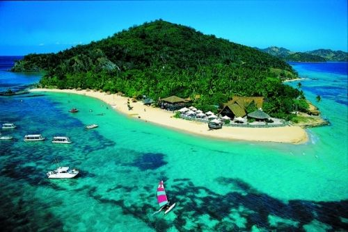 Fiji.  Maybe I can convince Danny to spend our honeymoon here instead : )
