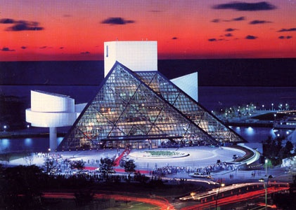 Rock and Roll Hall Of Fame. Cleveland OH.