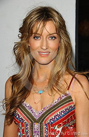 Natascha McElhone at the Los Angeles Premiere Screening of  Editorial Photography