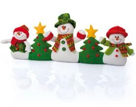 Cute draft excluders #Christmas