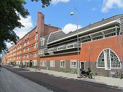 Michel de Klerk; Netherlands; 1910s-30s; Amsterdam School (Expressionist architecture)
