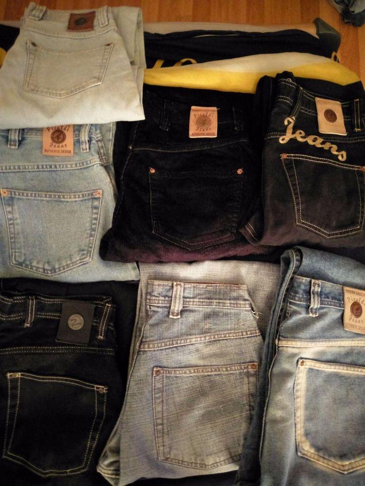 5 Picaldi Herren Jeans - 2 Cipo & Baxx - H&M und eine G-Star Jeans - 2 Zerava
