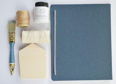 Wood&Crafts - kreatywne malowanie: Beznadziejnie nudny notes.