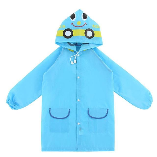 2017 Poncho New Waterproof Kids Rain Coat For Children Raincoat Rainwear/Rainsuit Kids Boy Girl Animal Style Raincoat F05