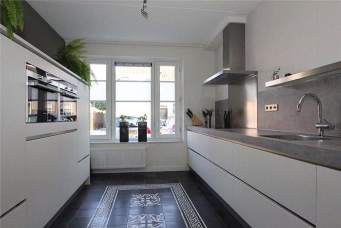 Vloer icm keuken