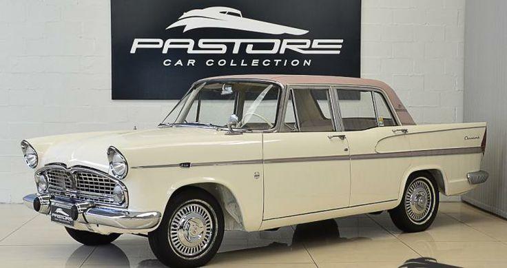 Simca Chambord Tufão 1965 Branco - Pastore Car Collection