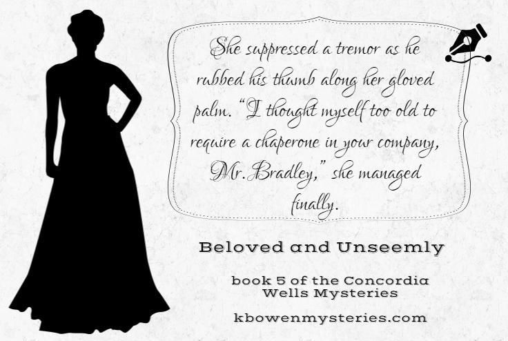 Day 7 of the quote-a-day countdown giveaway to celebrate the upcoming release of book #5, BELOVED AND UNSEEMLY. Check out this post for info on the giveaway, along with what the lady professor is up to this time: http://kbowenmysteries.com/posts/the-twelve-days-of-concordia-giveaway/