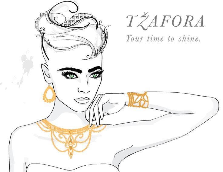 Set ideas ;-) www.tzafora.com  Fashion Illustration dance jewelry