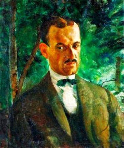 Zsögödi Nagy Imre (1893-1976) - Potrait of a Man (gróf  Bethlen István)