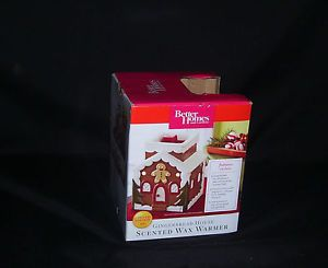 Details About Nib Gingerbread Man House Better Homes