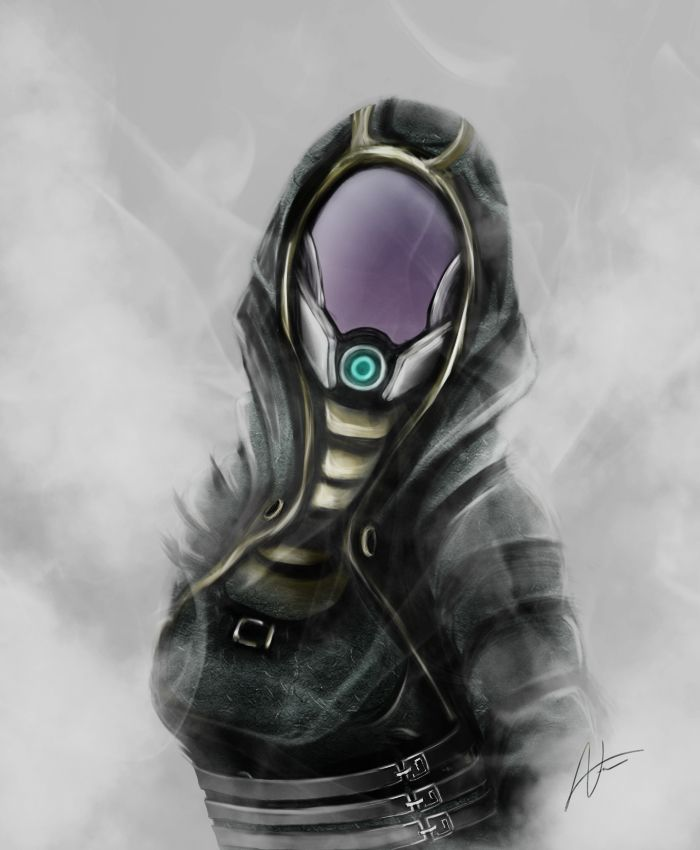 Tali'Zorah vas Normandy by JustIRaziel.deviantart.com on @DeviantArt