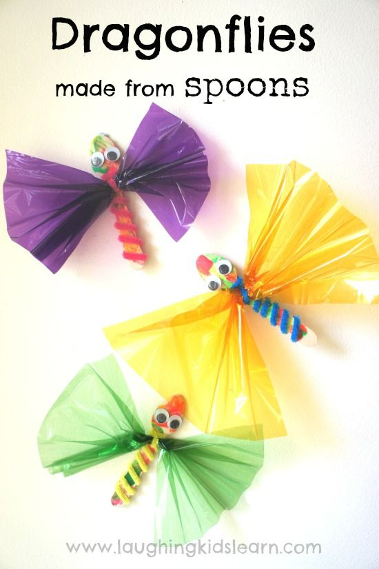 Simple Dragonfly craft for kids that helps develop fine motor skills and will encourage pretend play. Easy to make and great for toddlers and preschoolers.