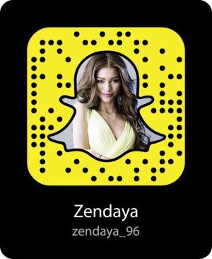 zendaya-celebrity-snapchat-snapcode