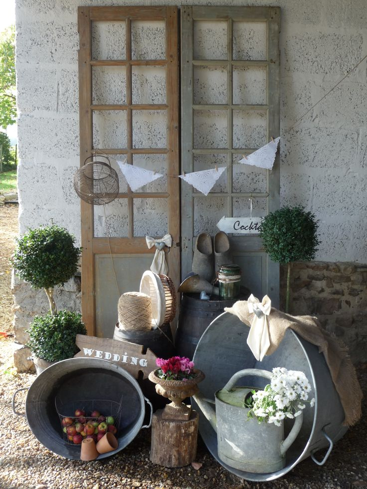 Inspiration mariage campagne rétro chic. Countryside chic Wedding - Rustic chic Wedding inspired by Fleurs de Céléno.