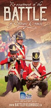Battlefield House Museum -- The Re-enactment of the Battle of Stoney Creek -- Stoney Creek, Ontario, Canada