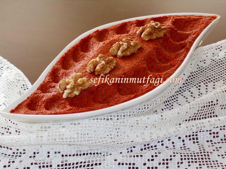 Güzel bir #meze çeşidi Benimse #kahvaltı soframı renklendiren çok beğenilen bir #tarif yayınlayayım #Muhammara Tarifi  http://sefikaninmutfagi.com/muhammara-tarifi/