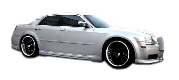 2005-2010 Chrysler 300 300C Couture Executive Side Skirts Rocker Panels - 2 Piece