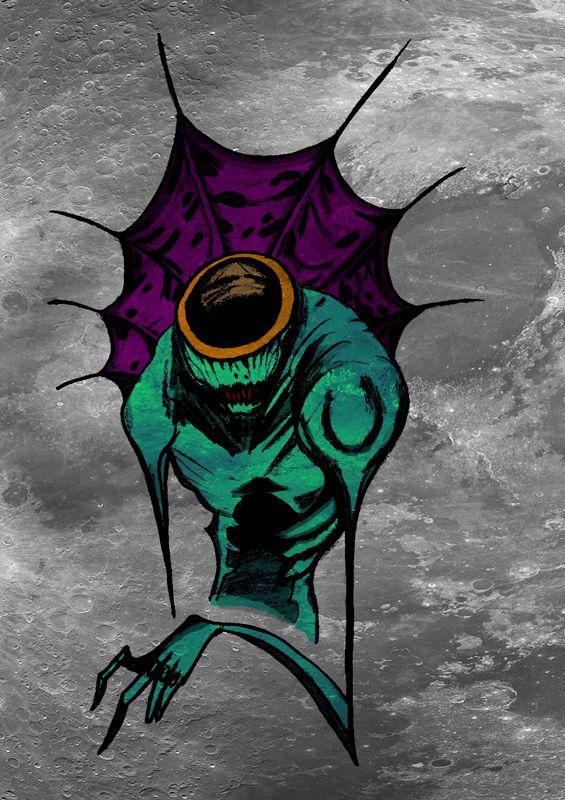 monster photoshop artwork