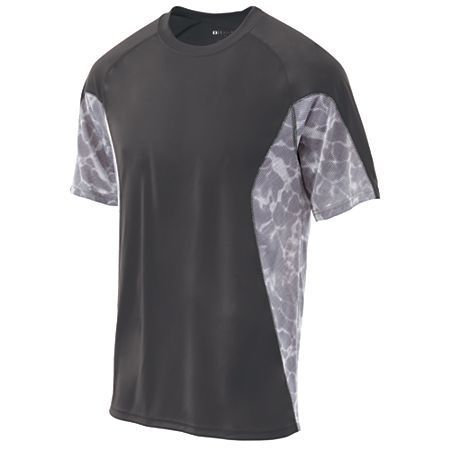 Grey sports shirt. Fully customizable for your team. Add your team logo at UnitedTeamSports.com. More colors available.  Team Sportswear