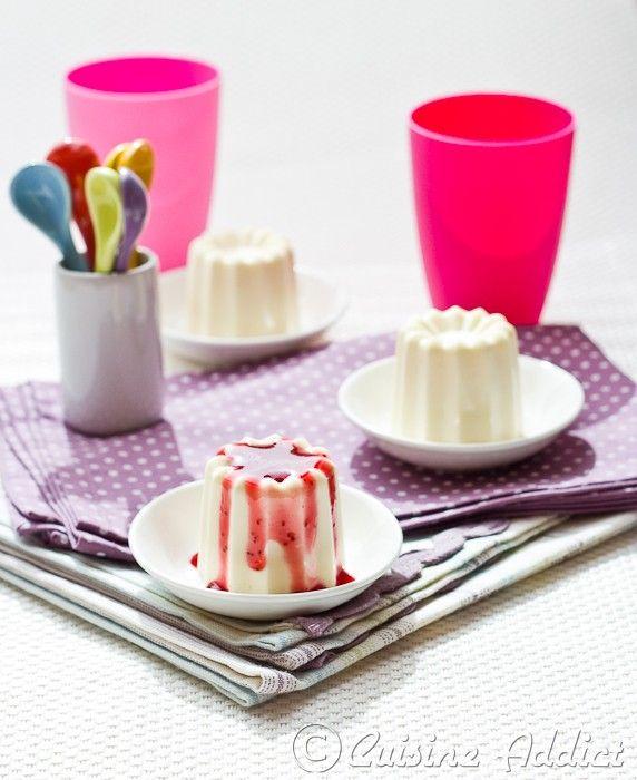 Panna Cotta au Chocolat blanc (Facile, rapide et délicieux!!) - Cuisine Addict - Food & Travel