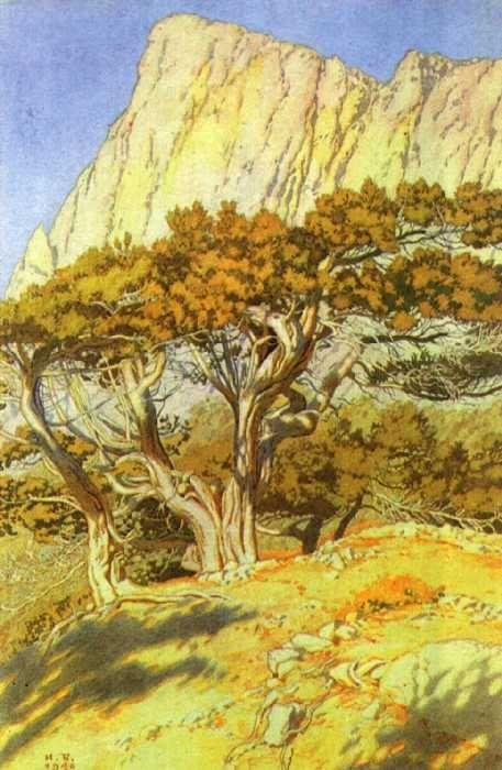 landscape - ivan bilibin