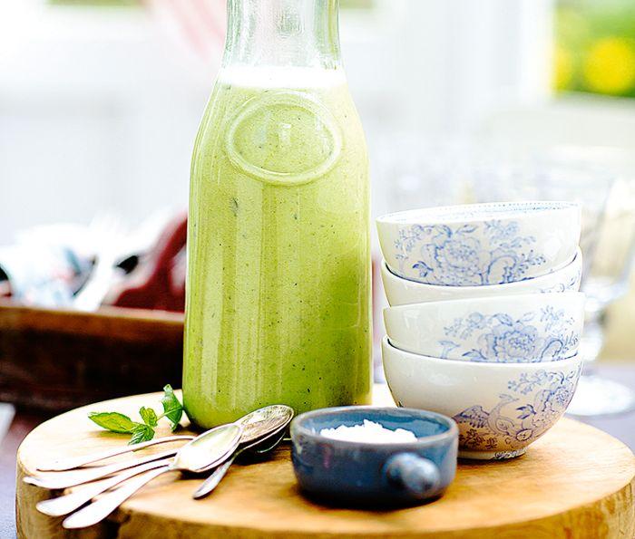 Grön ärtsoppa med mynta | Recept ICA.se