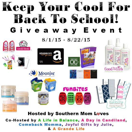 Keep Your Cool For Back To School Giveaway Event - Heartbeats~ Soul Stains