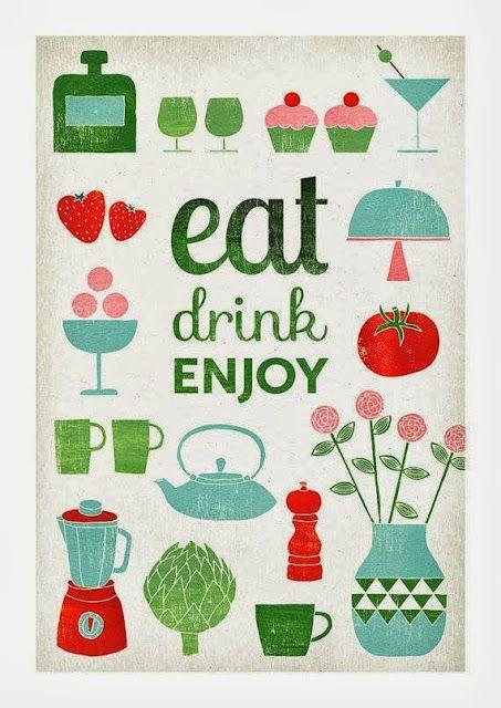 kawa, lody, plakat, do kuchni, zabawne, retro, vintage, Kuchnia i jadalnie, Dodatki do wnętrz i wystroju, styl re, coffee, keep calm, poster...