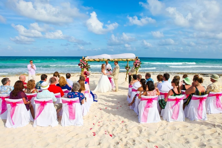 Valentin Imperial Maya wedding in the Mexican Riviera!!!