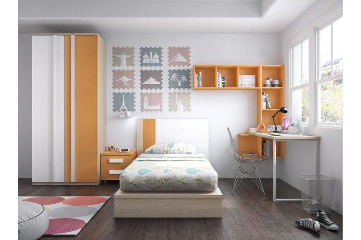 M s de 1000 ideas sobre decoraci n del dormitorio blanco - Habitaciones infantiles merkamueble ...