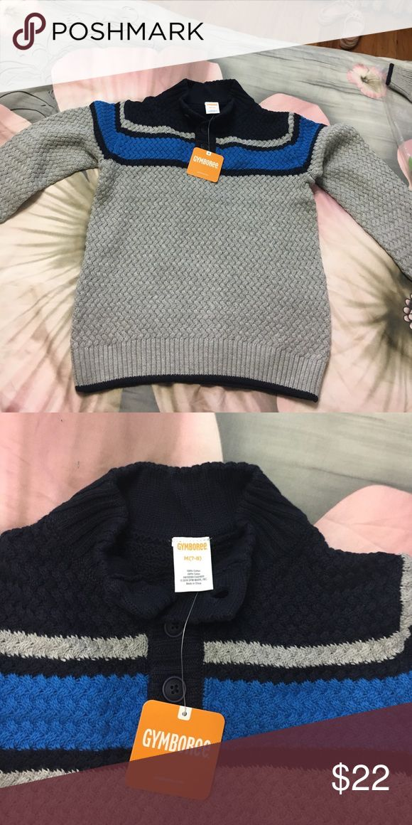 5/$20 Boys sweater size 7-8 New with packaging and tags! Cozy and comfy! Gymboree Shirts & Tops Sweaters