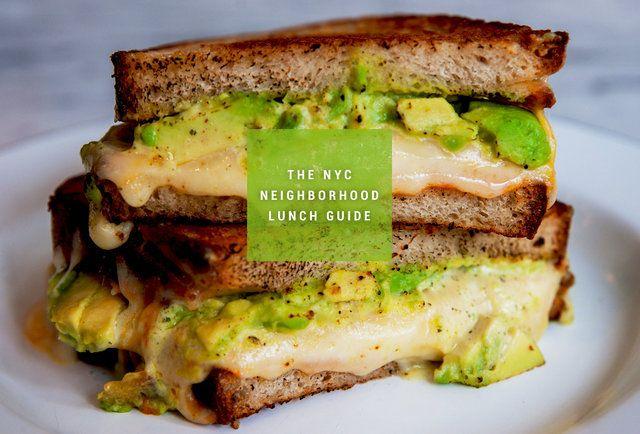 The Best Lunch Spot in 30 Manhattan Neighborhoods