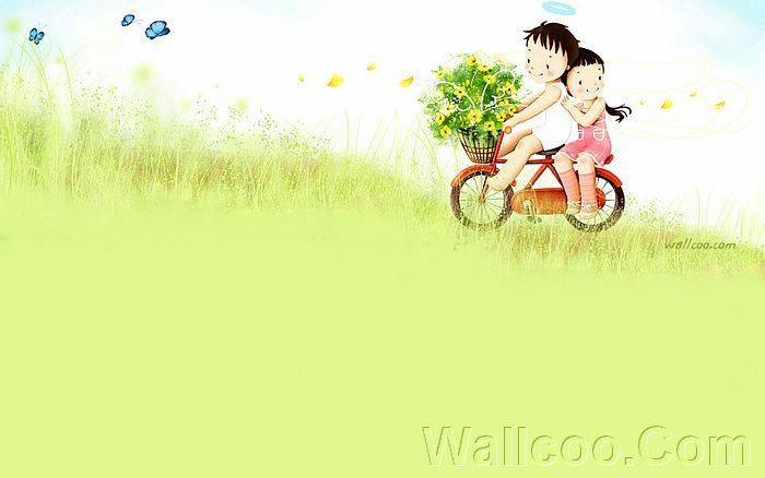 Kim Jong Bok Illustrations(Vol.04) : Sweet Puppy Love   - Puppy Love - Sweet Lovers and Cartoon Couples pictures 11