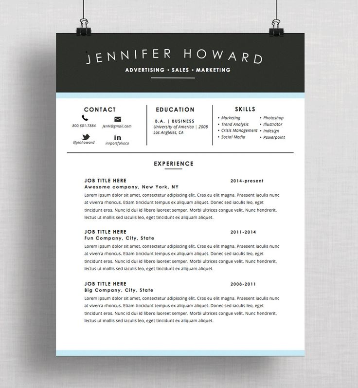 19 best Resume Design images on Pinterest Cover letter template - mac pages resume templates