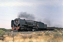 Spytfontein 1980 (prof@worthvalley) Tags: de railway steam kimberley aar locomotives railroads 25nc