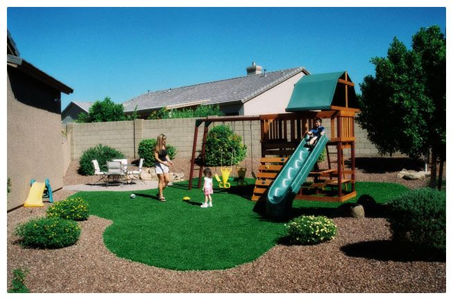 Kids Backyard Play Area