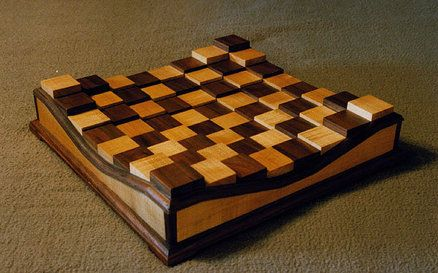 Raised Chess Board