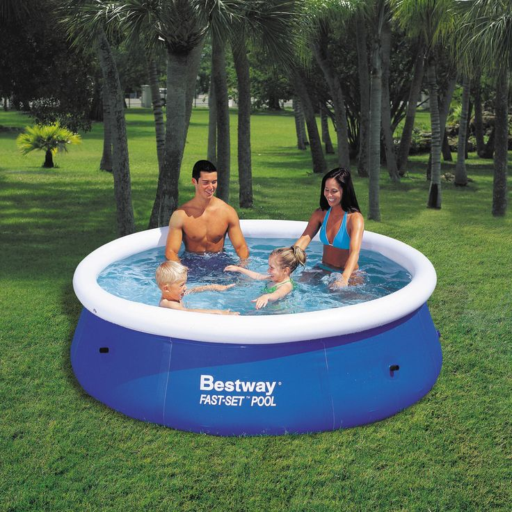 This 8ft Fast Set Pool is a must have for any family. Made from high quality plastics and fully tested for safety, ensure your kids have the ultimate experience in a great value garden pool The fast set pool is a brilliantly simple way to get a large capacity pool in your garden, while remaining easy to take down and setup. The top ring is inflatable, so if placed on a flat surface, the pool will rise as it is filled. The walls are made from 3-ply heavy gauge PVC, and there are no sharp…