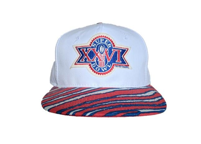 Excited to share the latest addition to my #etsy shop: Vintage 1990s Zubaz Super Bowl XXVI Hat- snap back snapback style - Red White and Blue - 1991 Super Bowl New with original Tags Flash your patriotic spirit with this red white and blue Zubas NFL Super Bowl lid. Zubas apparel is the crem de la crem from the 90s and you'll have folks wondering why you're stunting on their block!? #hat #accessories #Zubaz #Vintage #NFL http://etsy.me/2hnmbmK